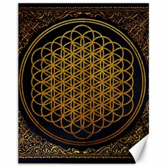 Bring Me The Horizon Cover Album Gold Canvas 11  x 14