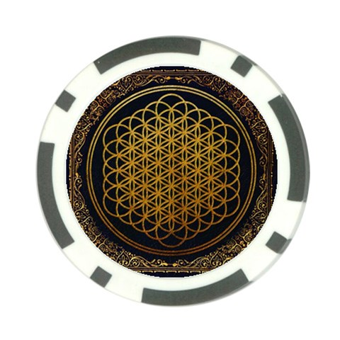 Bring Me The Horizon Cover Album Gold Poker Chip Card Guards