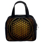 Bring Me The Horizon Cover Album Gold Classic Handbags (2 Sides) Front