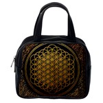 Bring Me The Horizon Cover Album Gold Classic Handbags (2 Sides) Back