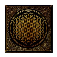 Bring Me The Horizon Cover Album Gold Face Towel