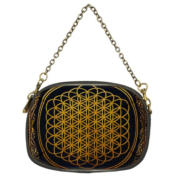 Bring Me The Horizon Cover Album Gold Chain Purses (One Side)