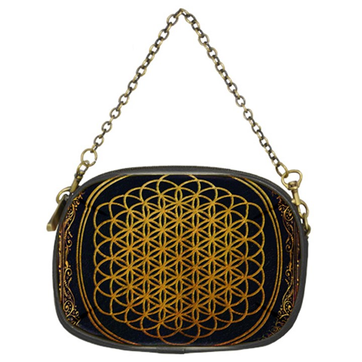 Bring Me The Horizon Cover Album Gold Chain Purses (Two Sides)