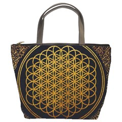 Bring Me The Horizon Cover Album Gold Bucket Bags