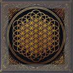 Bring Me The Horizon Cover Album Gold Mini Canvas 6  x 6  6  x 6  x 0.875  Stretched Canvas