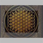 Bring Me The Horizon Cover Album Gold Mini Canvas 6  x 4  6  x 4  x 0.875  Stretched Canvas