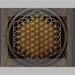 Bring Me The Horizon Cover Album Gold Mini Canvas 7  x 5  7  x 5  x 0.875  Stretched Canvas
