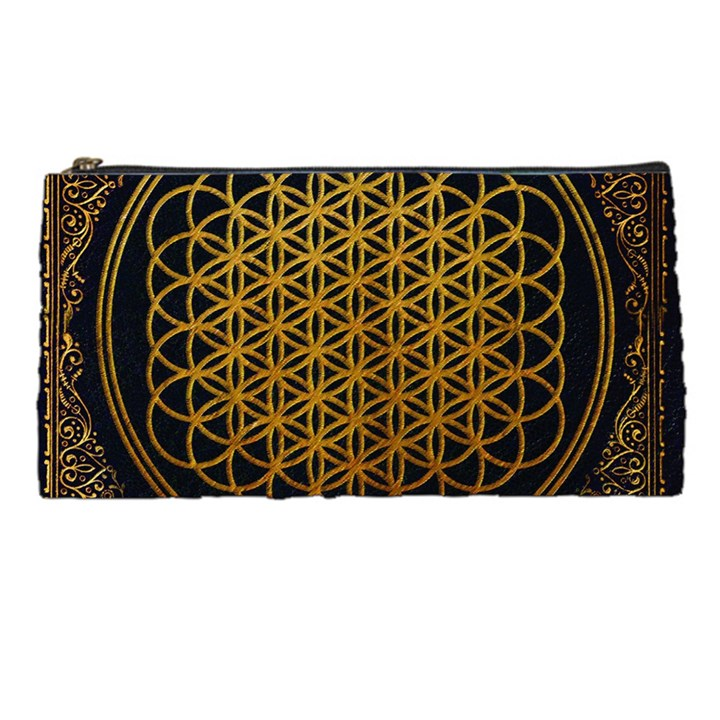Bring Me The Horizon Cover Album Gold Pencil Cases
