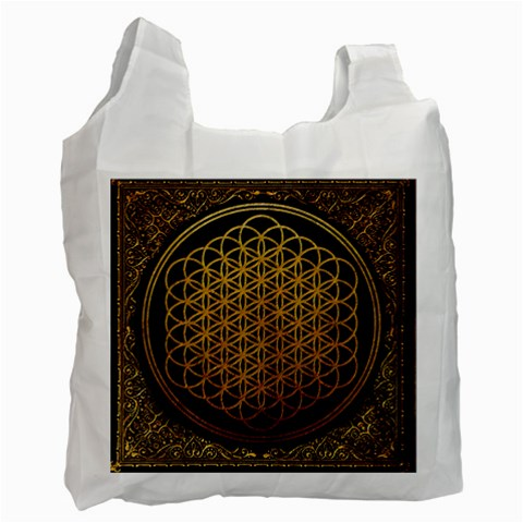 Bring Me The Horizon Cover Album Gold Recycle Bag (One Side)