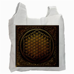Bring Me The Horizon Cover Album Gold Recycle Bag (two Side)