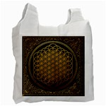 Bring Me The Horizon Cover Album Gold Recycle Bag (Two Side)  Front