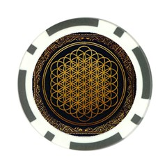 Bring Me The Horizon Cover Album Gold Poker Chip Card Guards (10 Pack)