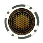 Bring Me The Horizon Cover Album Gold Poker Chip Card Guards (10 pack)  Front
