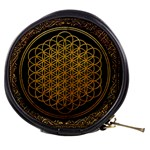 Bring Me The Horizon Cover Album Gold Mini Makeup Bags Front
