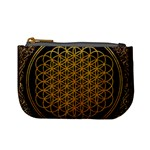 Bring Me The Horizon Cover Album Gold Mini Coin Purses Front