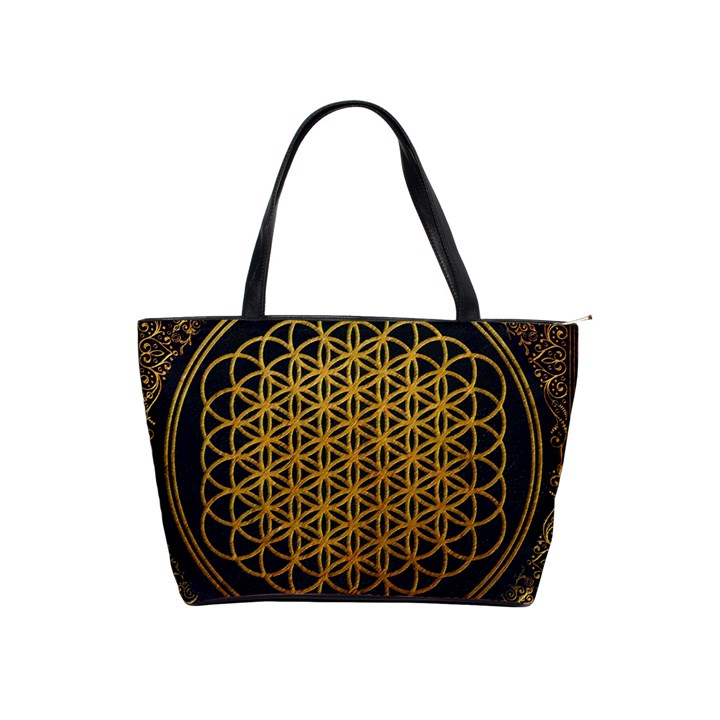Bring Me The Horizon Cover Album Gold Shoulder Handbags