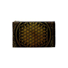 Bring Me The Horizon Cover Album Gold Cosmetic Bag (small)