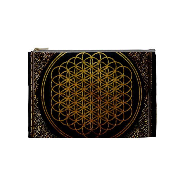 Bring Me The Horizon Cover Album Gold Cosmetic Bag (Medium)