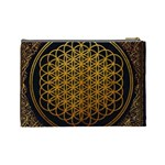 Bring Me The Horizon Cover Album Gold Cosmetic Bag (Large)  Back