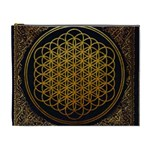 Bring Me The Horizon Cover Album Gold Cosmetic Bag (XL) Front