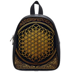 Bring Me The Horizon Cover Album Gold School Bags (Small)