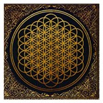 Bring Me The Horizon Cover Album Gold Small Memo Pads 3.75 x3.75  Memopad