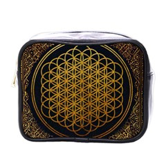 Bring Me The Horizon Cover Album Gold Mini Toiletries Bags