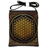 Bring Me The Horizon Cover Album Gold Shoulder Sling Bags Front