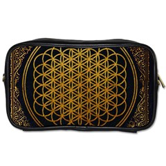 Bring Me The Horizon Cover Album Gold Toiletries Bags 2-Side