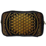 Bring Me The Horizon Cover Album Gold Toiletries Bags 2-Side Front