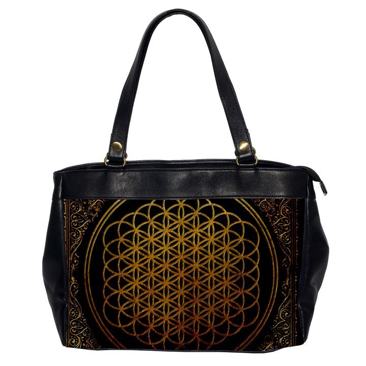 Bring Me The Horizon Cover Album Gold Office Handbags