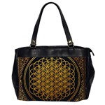 Bring Me The Horizon Cover Album Gold Office Handbags (2 Sides)  Front