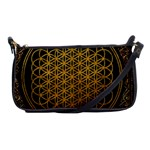 Bring Me The Horizon Cover Album Gold Shoulder Clutch Bags Front