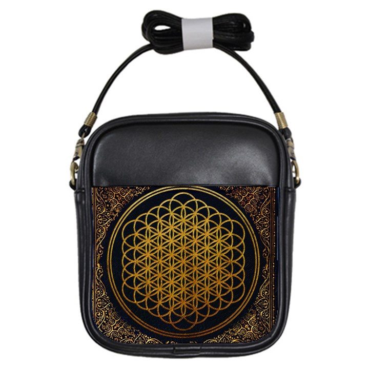 Bring Me The Horizon Cover Album Gold Girls Sling Bags