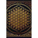 Bring Me The Horizon Cover Album Gold 5.5  x 8.5  Notebooks Back Cover