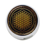 Bring Me The Horizon Cover Album Gold 4-Port USB Hub (One Side) Front