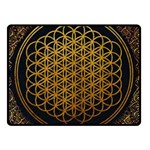 Bring Me The Horizon Cover Album Gold Fleece Blanket (Small) 50 x40 Blanket Front