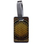 Bring Me The Horizon Cover Album Gold Luggage Tags (Two Sides) Front