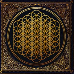 Bring Me The Horizon Cover Album Gold Magic Photo Cubes