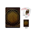 Bring Me The Horizon Cover Album Gold Playing Cards (Mini)  Back