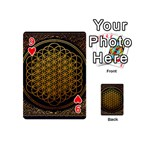 Bring Me The Horizon Cover Album Gold Playing Cards 54 (Mini)  Front - Heart9