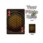 Bring Me The Horizon Cover Album Gold Playing Cards 54 (Mini)  Front - Diamond4