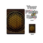 Bring Me The Horizon Cover Album Gold Playing Cards 54 (Mini)  Back