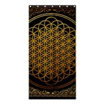 Bring Me The Horizon Cover Album Gold Shower Curtain 36  x 72  (Stall)  33.26 x66.24 Curtain