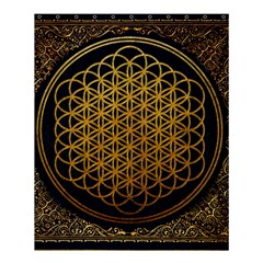 Bring Me The Horizon Cover Album Gold Shower Curtain 60  X 72  (medium)