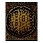 Bring Me The Horizon Cover Album Gold Shower Curtain 60  x 72  (Medium)  54.25 x65.71 Curtain