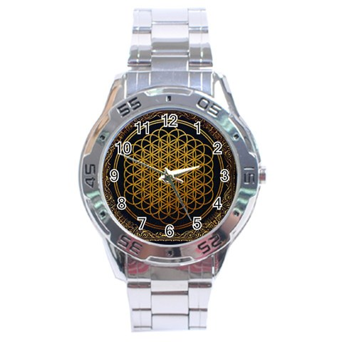 Bring Me The Horizon Cover Album Gold Stainless Steel Analogue Watch