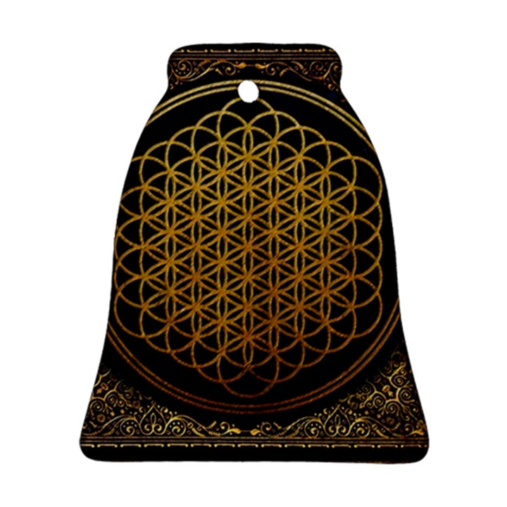Bring Me The Horizon Cover Album Gold Ornament (Bell)