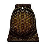 Bring Me The Horizon Cover Album Gold Bell Ornament (2 Sides) Back