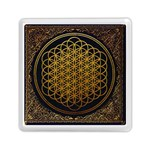 Bring Me The Horizon Cover Album Gold Memory Card Reader (Square)  Front
